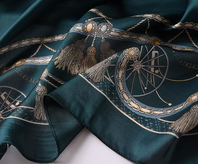 Fashion Printed Silk Stole12