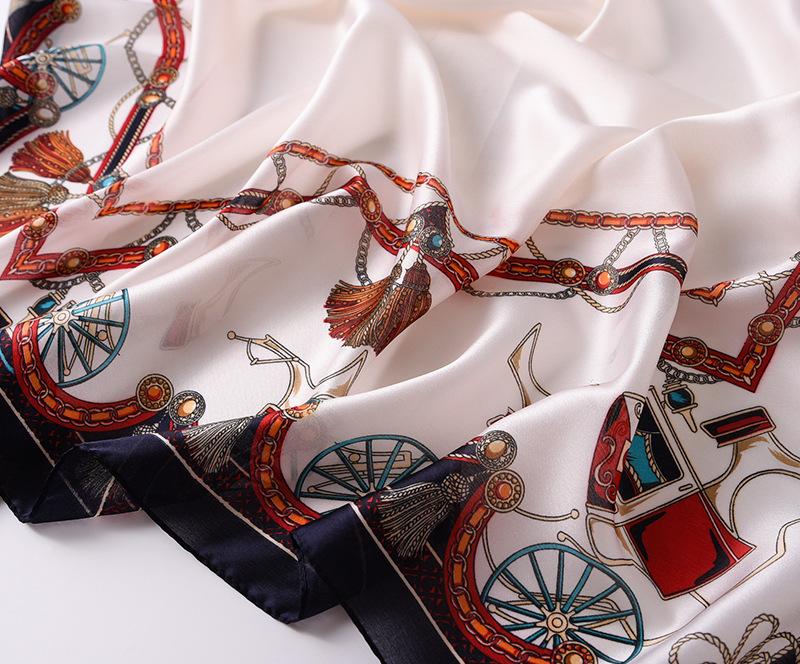 Fashion Printed Silk Stole4