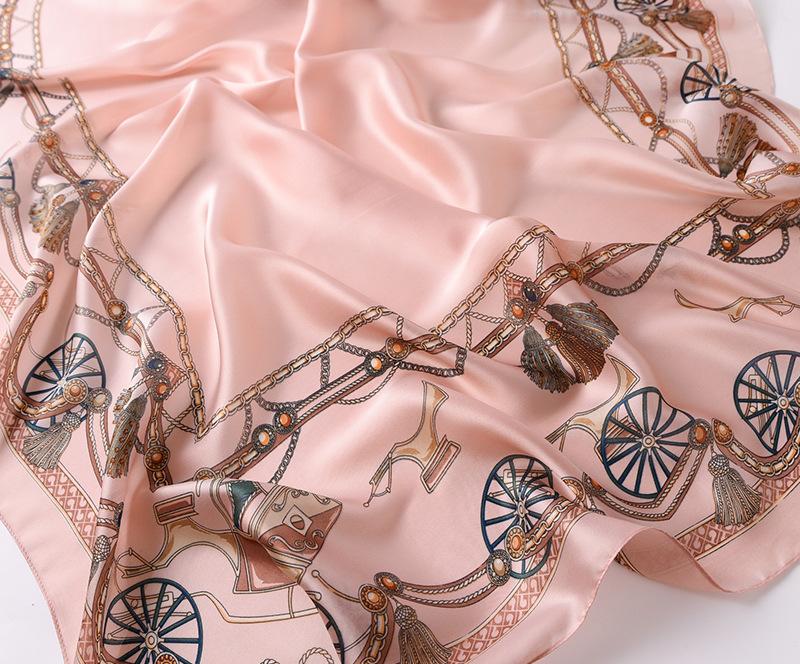 Fashion Printed Silk Stole8