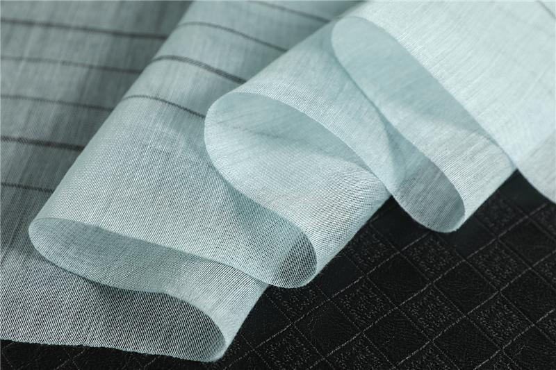 Fashion Striped Silk Long Scarves 3