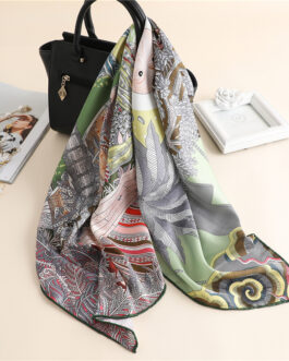High Quality Twill Silk Scarf