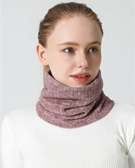 Knit Ring Neck Warm Scarf