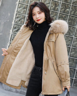Long Sleeve Hooded Zipper Long Sleeves Casual Coat