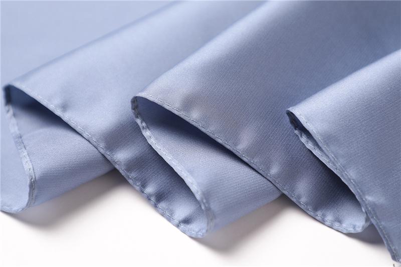 Luxury Fashion Pure Color Silk Scarf13