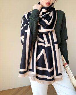 Luxury Print Cashmere Warm Scarves