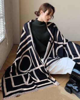 Luxury Print Cashmere Warm Scarves