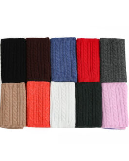 Ring Snood Knit Warm Magic Neck Scarves