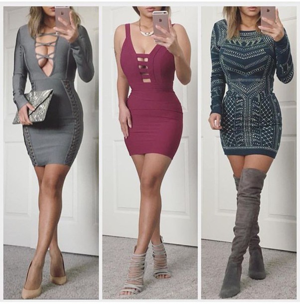 10 Mini Dresses For Valentine's Day Outfits