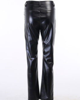 Gothic PU Leather Retro Costumes