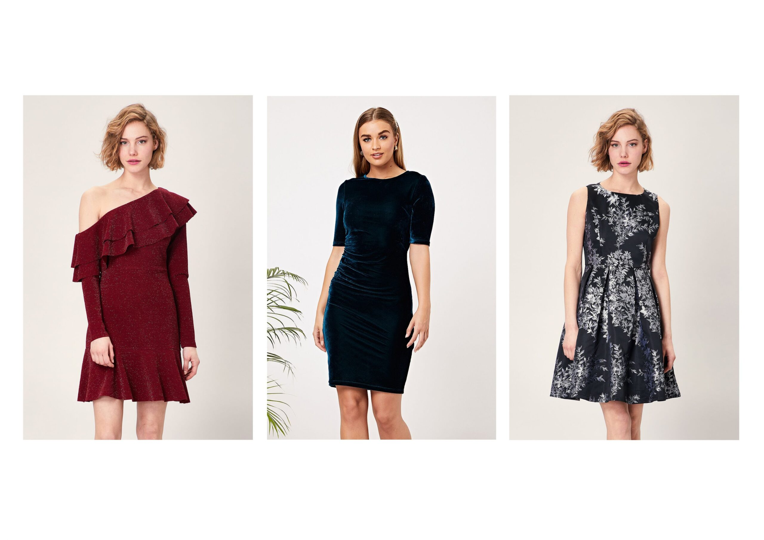 Various Types Of Sexy Mini and Midi Dresses For Different Occasions.