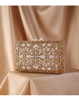 Vintage Diamond Drip Clutches For Party Wedding Purse