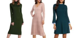 The Cozy Sweater Dresses You Need This Fall Season