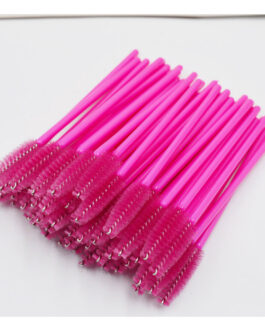 50Pcs Individual Disposable Mascara Applicator Comb Wand Lash Makeup Brushes Tools
