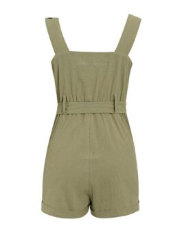 Sexy High Waist Street Wear Jumpsuit And Romper
