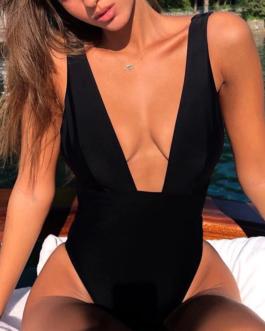 Sexy one piece swimsuit