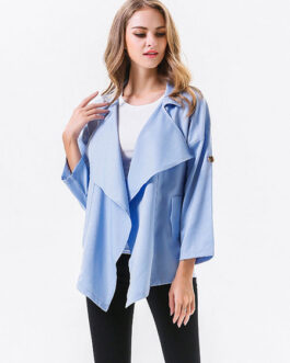 Oversized Casual Street Wear Long Sleeve Polyester Jacket
