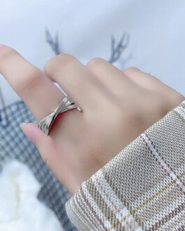 Cross Ring Simple Opening Adjustment Jewelry