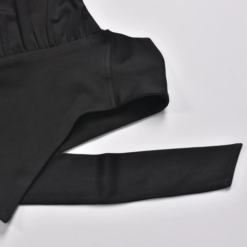 Sexy Halter Asymmetry Slim Tank Top Streetwear 4