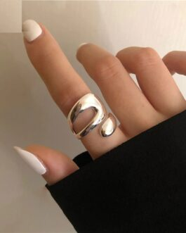 Unique Design Hollow Ring Fashion Trendy Open Jewelry