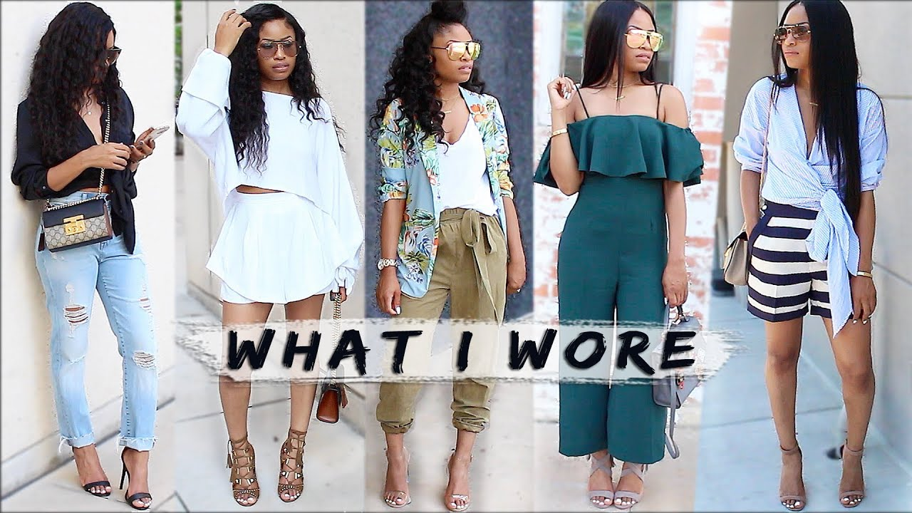 What I Wore | Spring OUTFITS (lookbook)