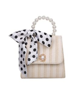 Chic Pure Sequined Chain Side Bag