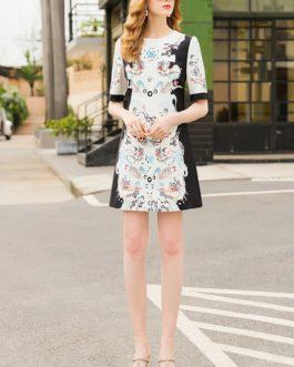 Fashion Designer Party Mini Dress Long Sleeve Gorgeous A-Line Dresses