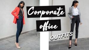 Corporate Office Outfit Ideas !