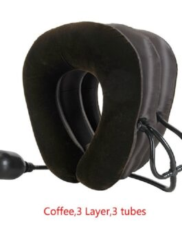 3 Tube Neck Stretcher Air Inflatable Cervical Traction Device