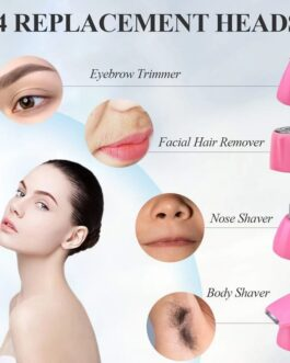4in1Epilator Eyebrow Nose Trimmer Hair Removal Shaver