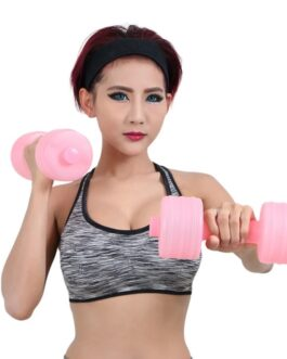 Body Building Fitness Gym Equipment Water Dumbbell