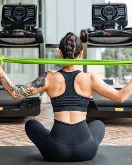 Fitness Band Training Elastic Exercise Rubber