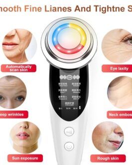 LED Face Skin Rejuvenation Remover Wrinkle Radio Frequency
