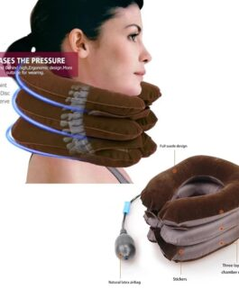 Neck Stretcher Inflatable Air Cervical Collar Pillow