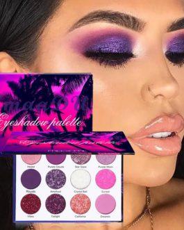 12 Colors Pigments Matte Eyeshadow Palette