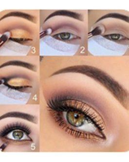 20pcs Pro Cotton Eyeshadow Shields Under Eye Patches