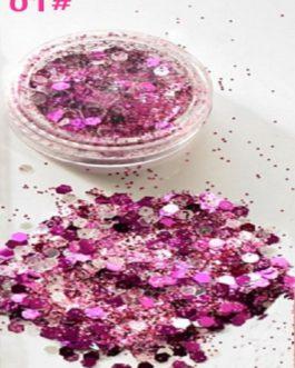 Hybrid Sequins Glitter Round Colorful Glitter