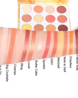 Matte Glitter Shiny Eyeshadow Makeup Palette
