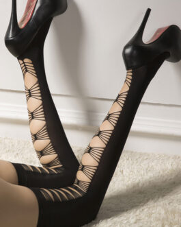 Sexy Stocking Cut Out Thigh High Hosiery